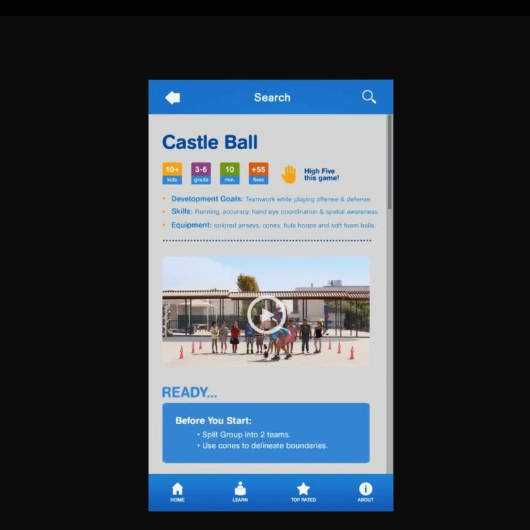 Playworks Mobile App Video